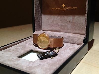 VACHERON CONSTANTIN ヴァシュロンコンスタンタン メンズウォッチ 750YG イエローゴールド 手巻き アンティーク 金無垢 腕時計 高価買取 宅配買取 西日本