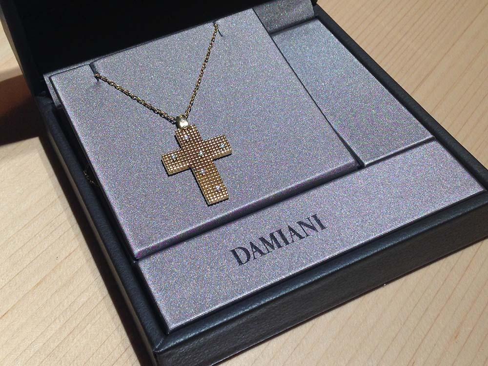 ダミアーニ(DAMIANI) メトロポリタン クロス ペンダント 750