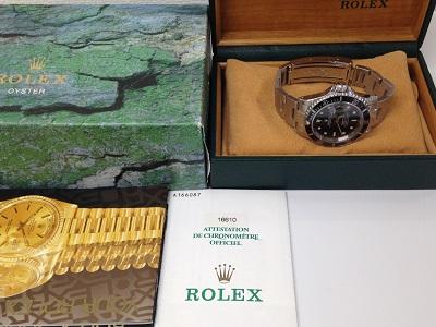 ROLEX ロレックス サブマリーナ デイト Ref.16610 ダイバーズウォッチ スポーツモデル 腕時計 機械式時計 高価買取 宅配買取 西日本