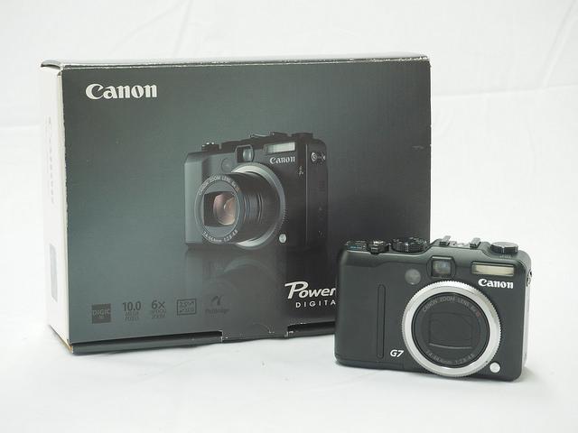 Canon キヤノン PowerShot パワーショット G7 カメラ 買取 京都