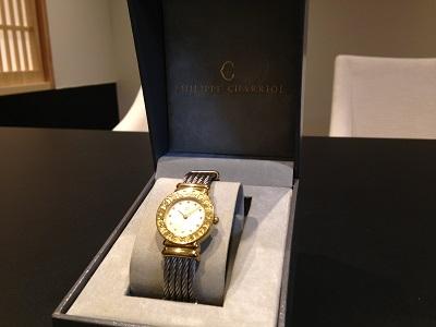 PHILIPPE CHARRIOL フィリップシャリオール サントロペ 腕時計 高価買取 宅配買取 西日本