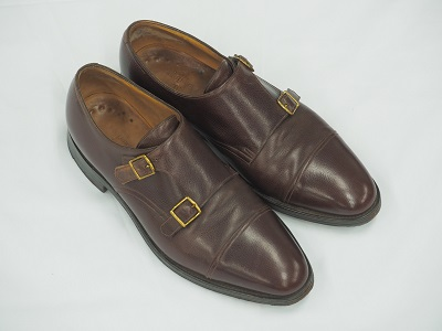 JOHN LOBB ジョンロブ メンズシューズ ビジネスシューズ 紳士靴 レザー 茶 中古 高価買取 宅配買取 西日本