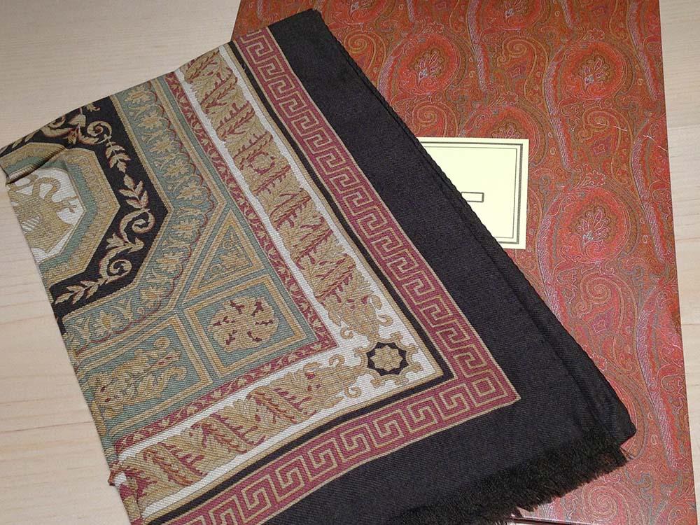 エトロ(ETRO) スカーフ 90cm グリーン
