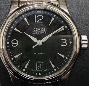 ORIS オリス モダンクラシック SS 時計 買取 福岡 天神