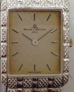 BAUME&MERCIER ボーム&メルシエ 腕時計 750 ホワイトゴールド アンティーク 買取 福岡 天神