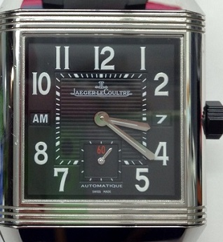 JAEGER-LECOULTRE ジャガールクルト レベルソ スクアドラ ホームタイム Q700868P ラバー 時計 買取 福岡