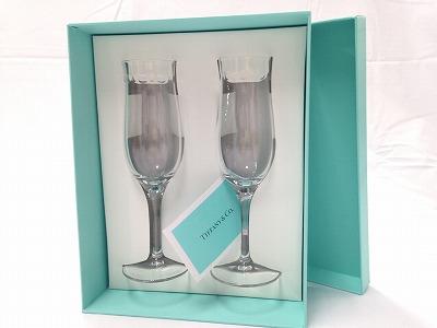 ティファニー(Tiffany&Co.) シャンパンペアグラス ブランド食器 宅配買取