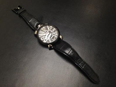 GAGA MILANO ガガミラノ マヌアーレ48 腕時計 高価買取 四条店