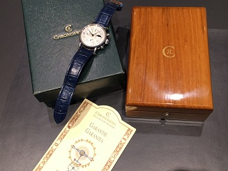 Chronoswiss クロノスイス ルナ クロノグラフ ムーンフェイズ CH7523L SS 時計 買取 福岡 天神