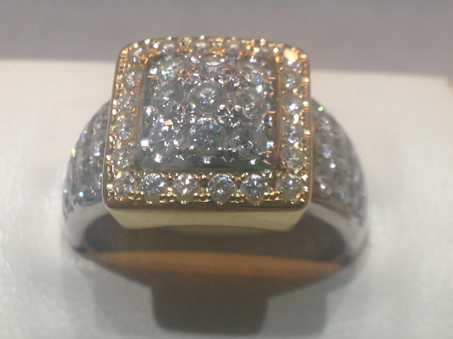 タサキ ダイヤモンドリング 1.00ct PT900 750
