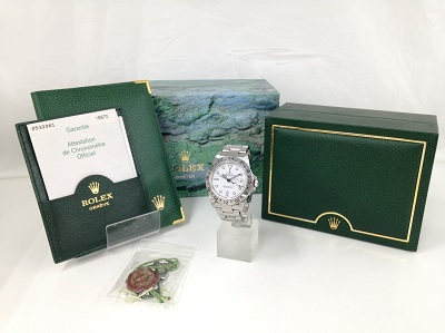 ROLEX ロレックス エクスプローラー2 Ref.16570 白文字盤 腕時計 高価買取 四条店