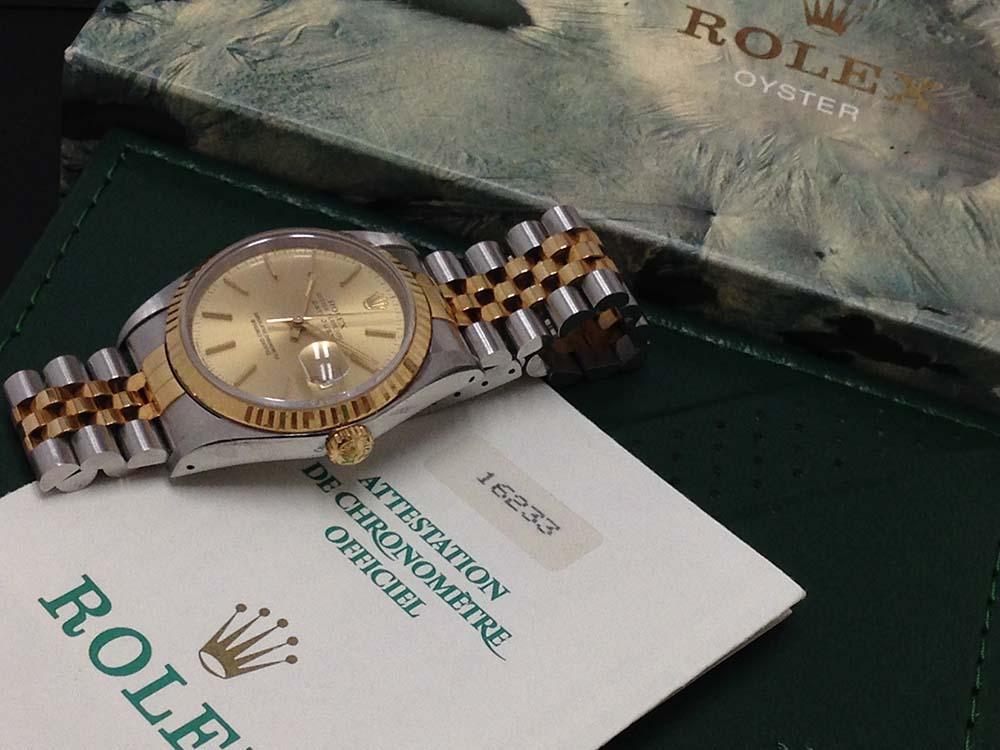 ROLEX ロレックス デイトジャスト 16233 高価買取 メンズ