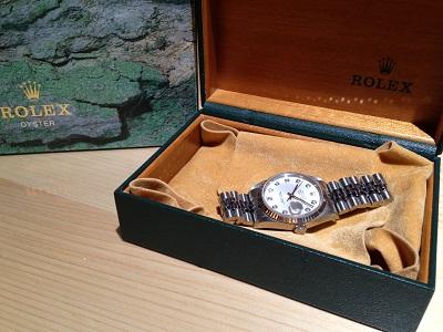 ROLEX ロレックス デイトジャスト メンズ Ref.16234G ダイヤモンドインデックス 腕時計 高価買取 出張買取