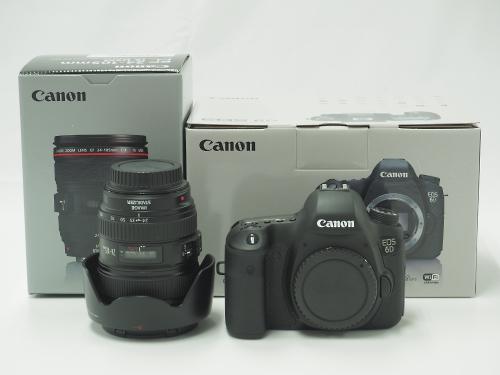 Canon キヤノン EOS イオス 6D レンズキット(EF 24-105mm F4 L IS USM) カメラ買取 京都