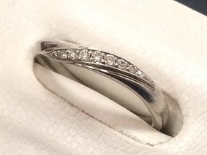4℃ ヨンドシー ダイヤモンドリング Pr950 ジュエリー 買取