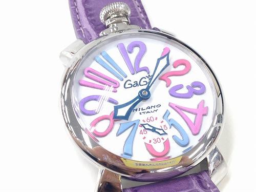 ガガミラノ(GAGAMILANO)マヌアーレ48mm 5011.09S SS×革 宅配買取 腕時計