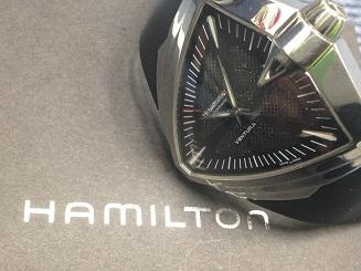 HAMILTON ハミルトン ベンチュラXXL H246551 SS ラバー 福岡天神 時計 買取