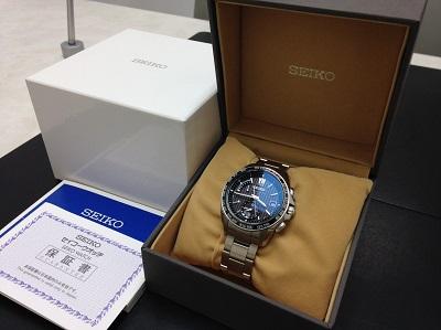 SEIKO セイコー ブライツ ワールドタイム 腕時計 高価買取 宅配買取 西日本