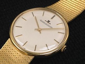 JAEGER LECOULTRE ジャガールクルト メンズウォッチ イエローゴールド アンティーク 時計 買取
