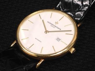 Vacheron Constantin ヴァシュロン コンスタンタン パトリモニー デイト オートマティック 時計 買取 福岡 天神 博多