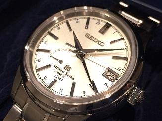SEIKO グランドセイコー SBGE025 スプリングドライブ GMT パワーリザーブ 時計 買取 福岡 天神 博多