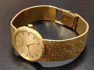 VACHERON CONSTANTIN ヴァシュロンコンスタンタン メンズウォッチ アンティーク 750YG イエローゴールド 金無垢 腕時計 高価買取 出張買取