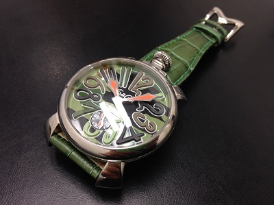 GAGA MILANO ガガミラノ マヌアーレ 腕時計 革ベルト 中古 高価買取 七条店