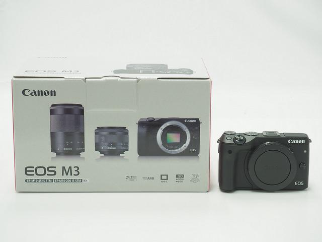 Canon キヤノン ミラーレスカメラ EOS M3 ダブルズームキット2 買取