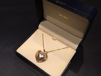 TASAKI タサキ 田崎真珠 パールペンダント K18 ブランドジュエリー ダイヤモンド 買取 福岡 天神 博多