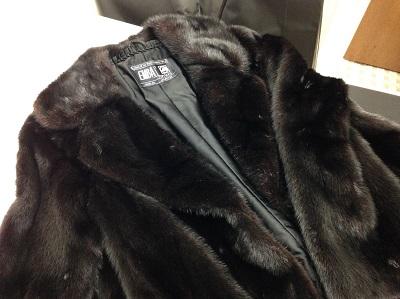 EMBA エンバ ミンク ショートコート ダークブラウン 美品 毛皮 高価買取 西京極 西院 七条店