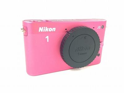 ニコン Nikon1J2 Wズームキット ピンク デジタルカメラ 宅配買取