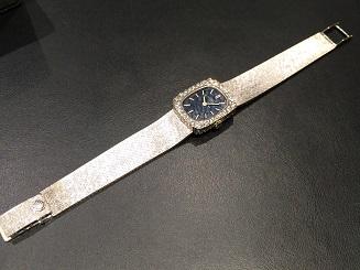 PATEK PHILIPPE パテックフィリップ レディース 時計 ダイヤベゼル 手巻き 750 ホワイトゴールド 買取 福岡 天神 博多