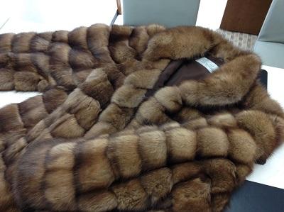 MILA SCHON ミラショーン ロシアンセーブル ハーフコート ブラウン 美品 毛皮 高価買取 西院 西京極 七条店