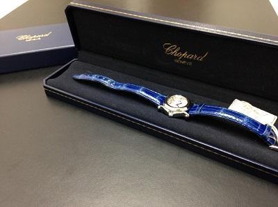 Chopard ショパール ハッピースポーツ 27/8245 腕時計 5Pダイヤモンド 美品 高価買取 七条店