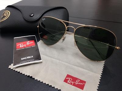 Ray Ban レイバン ティアドロップサングラス 美品 高価買取 宅配買取 西日本