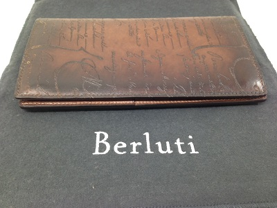 BERLUTI ベルルッティ 二つ折り長財布 ベネチアンレザー 高価買取 宅配買取 西日本