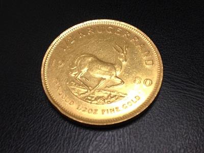 K22 金 クルーガーランド金貨 地金 コイン 高価買取 七条店 西院 西京極