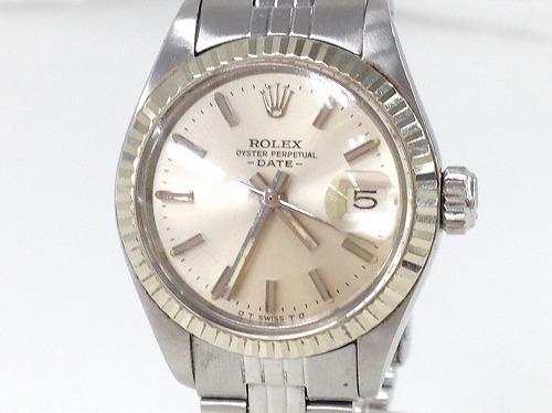 ロレックス(Rolex) デイトジャスト 6917 WG×SS 宅配買取