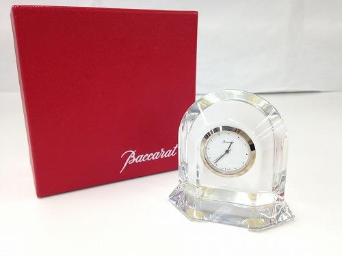 Baccarat バカラ 置時計 クリスタル 西日本 宅配買取