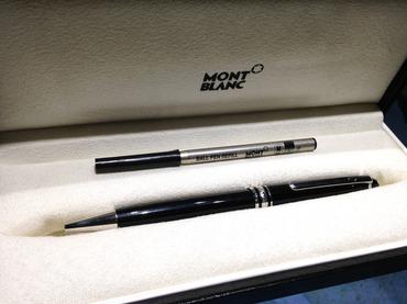 モンブラン(MONTBLANC) マイスターシュティック ボールペン 筆記具 万年筆 渋谷 買取