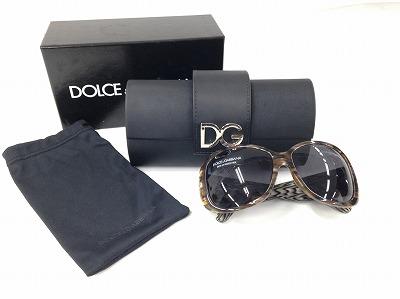 ドルチェ&ガッバーナ(Dolce&Gabbana) サングラス 茶黒 ブランド小物 宅配買取