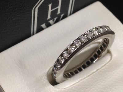 ハリーウィンストン(HARRY WINSTON) フルエタニティ リング PT950 ダイヤモンド