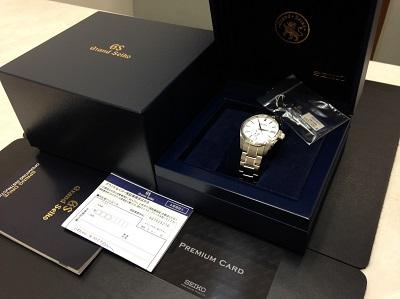 SEIKO セイコー グランドセイコー スプリングドライブ SBGA011 腕時計 高価買取 七条店 西院 西京極