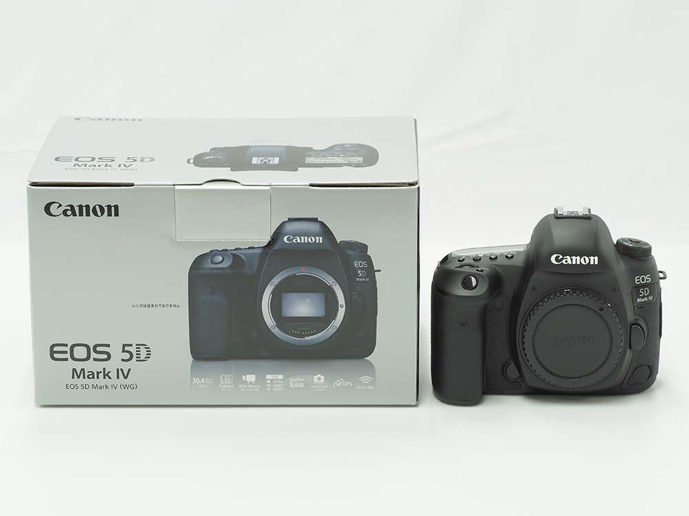 Canon キヤノン EOS 5D Mark IV (完全新品) デジタルカメラを「宅配買取」で!
