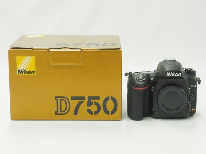 Nikon(ニコン)D750 ボディ 新品未使用品 九州・福岡天神店にてお買取!