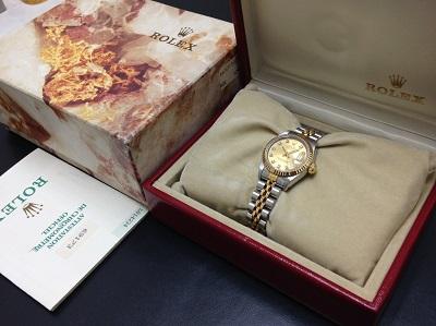 ROLEX ロレックス デイトジャスト Ref69173G レディース 腕時計 高価買取 七条店 西院