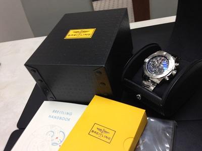 BREITLING ブライトリング スーパーアベンジャー2 腕時計 高価買取 七条店 西院
