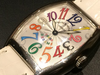 FRANCK MULLER フランクミュラー トノーカーベックス カラードリーム 時計買取 福岡 天神 博多 質屋
