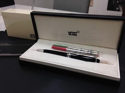 MONT BLANC モンブラン マイスターシュテック ボールペン 黒 美品 高価買取 七条店