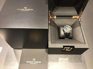 ROGER DUBUIS ロジェデュブイ エクスカリバー42 スケルトン RDDBEX0553 チタン 時計買取 福岡 天神 博多 質屋